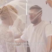 Maria Grazia Chiuri, directrice artistique de la maison Dior, révèle la robe de mariée de Chiara Ferragni