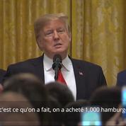 Donald Trump fait une blague sexiste sur Melania Trump durant une réception à la Maison-Blanche