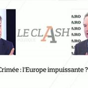 Le Clash Figaro-Nouvel Obs : Crimée, l'Europe impuissante ?