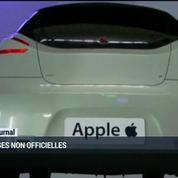 Apple planche sur une voiture autonome