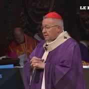 Une messe célébrée pour les victimes à Notre-Dame de Paris