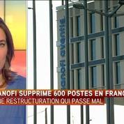 Sanofi va supprimer 600 postes en France