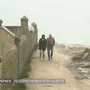 Météo France place 10 départements en vigilance orange