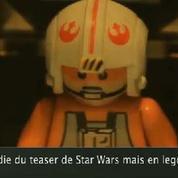 Zapping Web : la parodie de la bande annonce de Star Wars 7 en Lego !