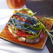 Croque-sardine tomaté