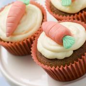 Cupcakes carotte amande