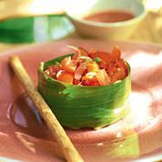 Tartare de tomate aux baies de goji