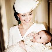 Les nouvelles photos du baptême de la princesse Charlotte