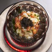 Tartare saumon et daurade au caviar