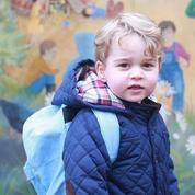 Les photos du premier jour de crèche du prince George