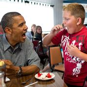 #ObamaAndKids : la complicité entre Barack Obama et les enfants en images