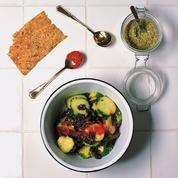 Salade de concombre et wakame