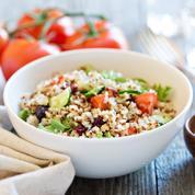 Tomates rôties salade de quinoa