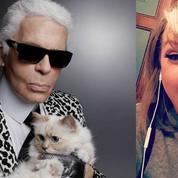 Karl Lagerfeld, Miley Cyrus, James Franco... Ils ont tous un chat sur Instagram