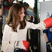 Kate Middleton se met à la boxe