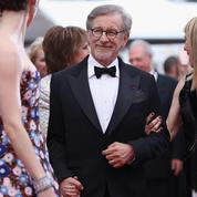 Steven Spielberg, NKM et Blake Lively sur les marches de Cannes