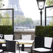 Monsieur Bleu, un restaurant dandy chic pour voir... et être vu