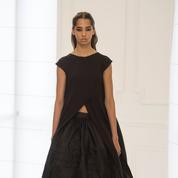 Dior haute couture, l'éloge du noir et blanc