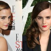 Boucles, coupe Twiggy et chignons : les plus belles coiffures d'Emma Watson