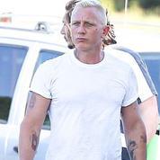 Daniel Craig est désormais blond (platine)