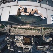 Instagram, Angelina Nikolau et ses vertigineux selfies de l'extrême