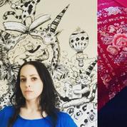 Molly Crabapple, l'artiste qui croque Donald Trump et illustre Virginie Despentes