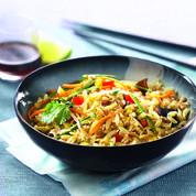 Salade asiatique aux céréales de campagne