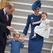 Kate Middleton joyeuse, le prince George boudeur : la famille d'Angleterre au Canada