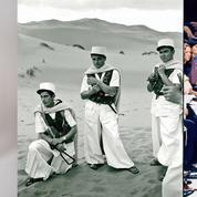 La mode et l'armée défilent ensemble