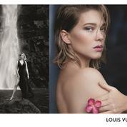 Léa Seydoux, première ambassadrice des nouveaux parfums Louis Vuitton