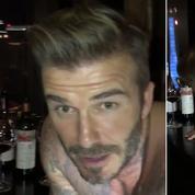 Mais que fait David Beckham en caleçon sur un piano ?