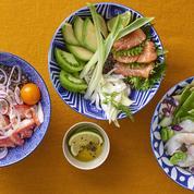 Poke bowls : la spécialité culinaire colorée tout droit venue d'Hawaï