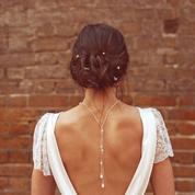 Robes de mariée : le dos, un détail qui fait la différence sur Pinterest