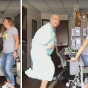 Atteinte d'un cancer, elle se filme en train de rire et de danser