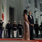 Michelle et Barack Obama : leur dernier dîner d'État à la Maison-Blanche