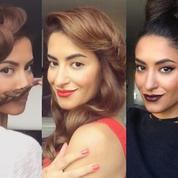 Les coiffures de fêtes à piquer à Sarah Angius, la nouvelle star d'Instagram