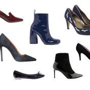 Plus de vingt paires de chaussures soldées pour aller au bureau