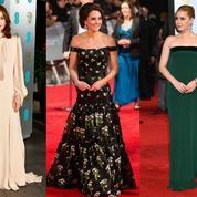 Kate Middleton, Emma Stone, Isabelle Huppert... Les plus belles tenues des Bafta 2017