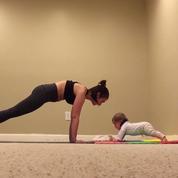 Vidéo : un bébé de 6 mois fait des abdos comme un grand