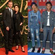 Les Beckham, les Clooney... Des couples fusionnels jusque dans leurs dressings