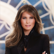 Melania Trump moquée à cause de son premier portrait officiel