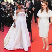 Rihanna, Lily-Rose Depp, Julianne Moore : vague de robes blanches sur tapis rouge