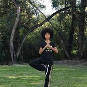 Tabay Atkins, 11 ans... et professeur de yoga