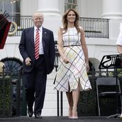La toute petite première interview de Melania Trump à la Maison-Blanche