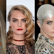 Crâne rasé, pixie cut, cheveux longs... Le CV capillaire de Cara Delevingne