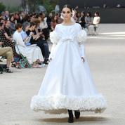 Chanel, Dior, Schiaparelli... les plus belles robes de mariée repérées sur les podiums couture