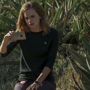 Emma Watson prise dans la toile de