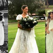 Le mariage bucolique du top Bianca Balti
