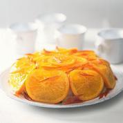 Génoise à l'orange en rosace