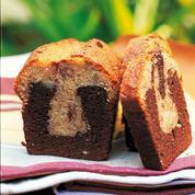 Marbré gourmand banane-chocolat